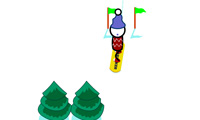 play Snowboard Slalom Xtreme