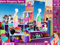play Paris Shopping Spree