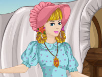 play History Dress Up Frontier Girl