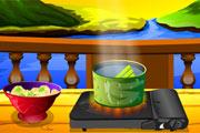 Play Seafood Salad Recipe Game