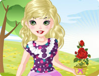 play Anny In The Garden Dress Up