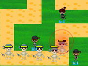 play Ninjas Vs Pirates Td 3