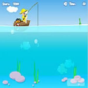 флеш-игра ловить рыбу
