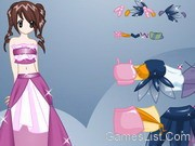 play Princess Anime Dress Up