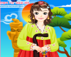 play Korean Girl Hanbok Dress Up