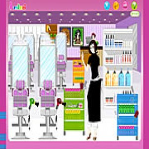 Hair Salon Games on Hair Salon Decoration   Decorating   Toongames Games   Gamekb