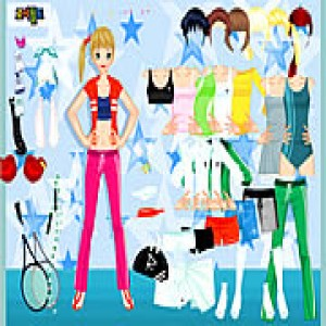 Play All sports dressup Game