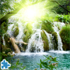 play Waterfall In Deep Forest Jigsaw