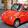 play Little Red Car Puzzle
