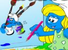 play Color The Smurfs