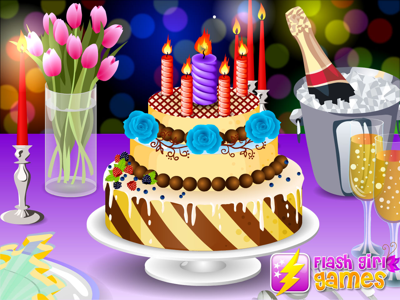 Www Girlsgogames Com Game Birthday Cake