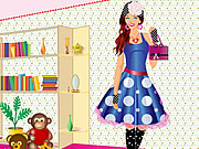 play Polka Dot Party Dress Up