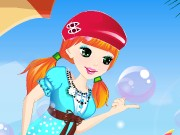 play Cute Bubble Girl Dress Up