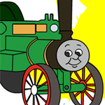 Thomas The Tank Engine Online Coloring