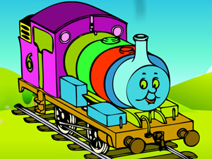 play Coloring Thomas