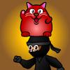 play Rucky Cat Barance Ninja!