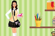 play Back To School Dress Up