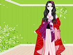 Play Japanese doll dress up Game