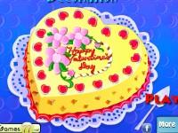 play Valentine Cake Decor