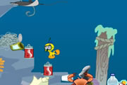 play Tweety'S Ocean Cleaning