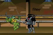 play Ninja Turtles Foot Clan ..