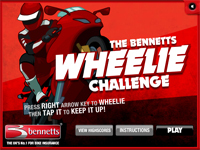 play Wheelie Challenge