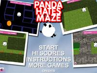 play Panda Hates Maze