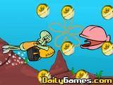 play Squidward Diving