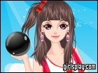 play Bowling Girl Dress Up