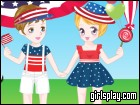 play Fourth Of July Dress Up