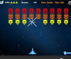play 80S Space Invaders