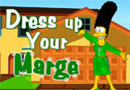 play Dressup Marge Simpson