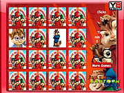 Play Alvin and the chipmunks memory matching Game