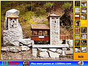 Play Hidden spots stone building Game