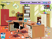Play Office room cleaning Game