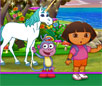 play Dora Enchanted Forest Horse