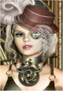 play Clockwork Couture Dress Up Game!