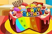 play Rainbow Cake
