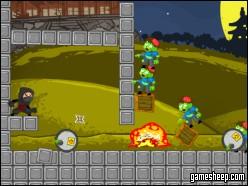 play Ninjas Vs Zombie