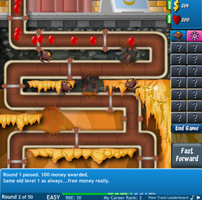 Bloons Tower Defense 4 Expansion game