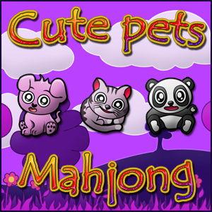 play Cute Pets Mahjong