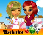 play Lisa And Mina Go To School