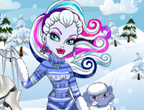 play Monster High Abbey Bominable Hairstyles