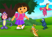 play Dora Spot The Difference