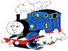 play Paint Thomas The Tank Engine