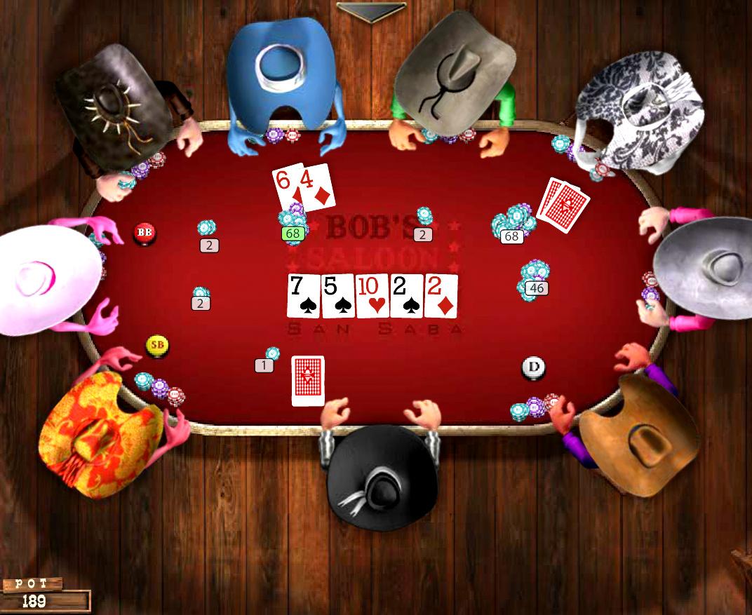 Miniclip + governor poker 2 + texas