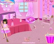 play Pink Room Clean Up