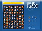 play Fast Food Fiasco
