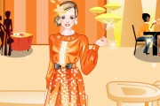 play Orange And Yellow Party Dress Up