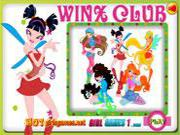 play Winx Club Coloring